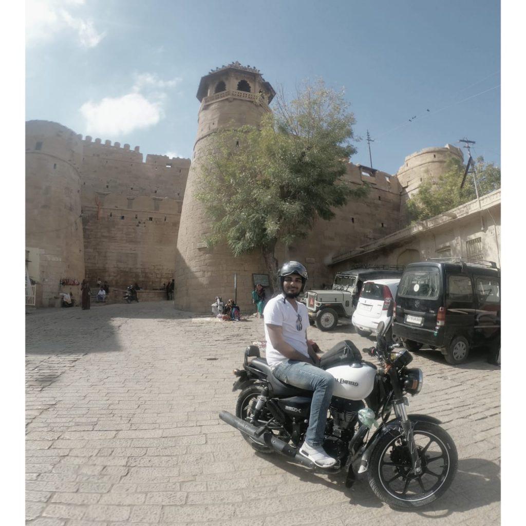 Author keynote on Jaisalmer