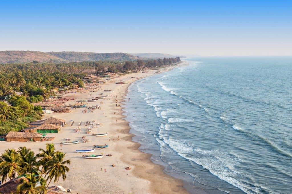 Goa- Youngsters dream life and the party hub- One of the best tourist places in India