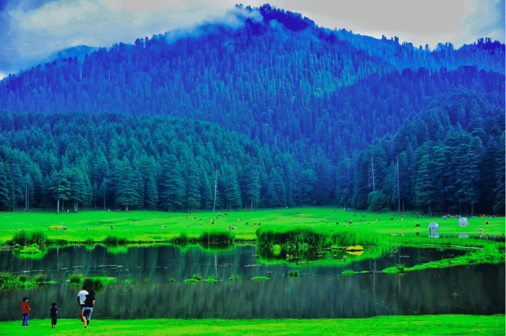 Khajjiar Lake and Kailash Villages