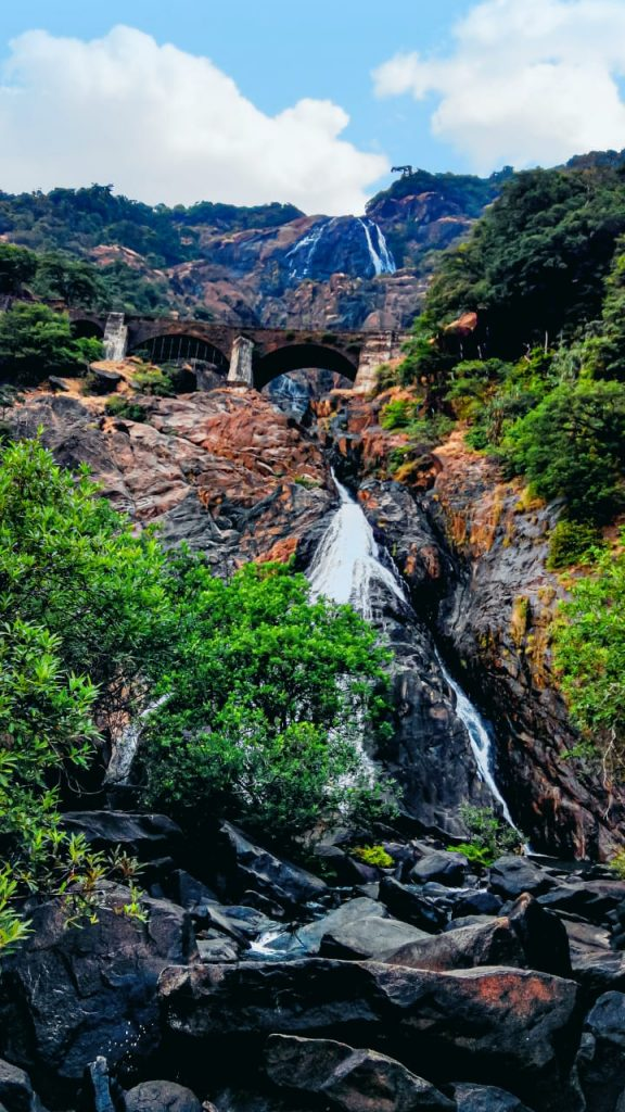 Goa-Dudhsagar-Waterfall