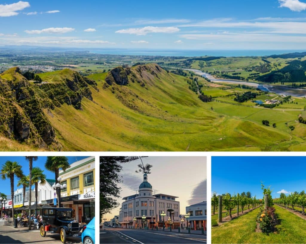 Napier- Pride of New Zealand Tourism