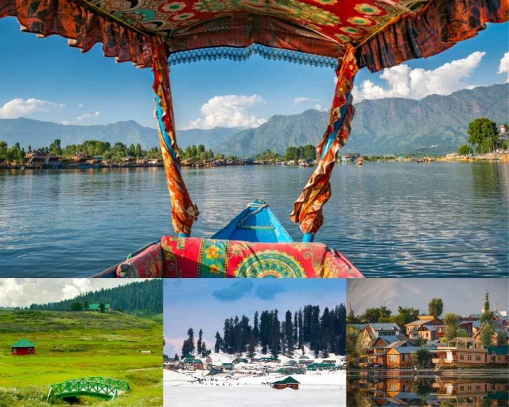 Pahalgam and Gulmarg- Jammu & Kashmir: Best Honeymoon Destinations in India
