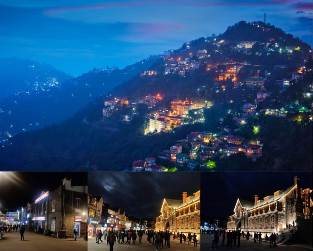 Shimla Night with Your Travelling Story