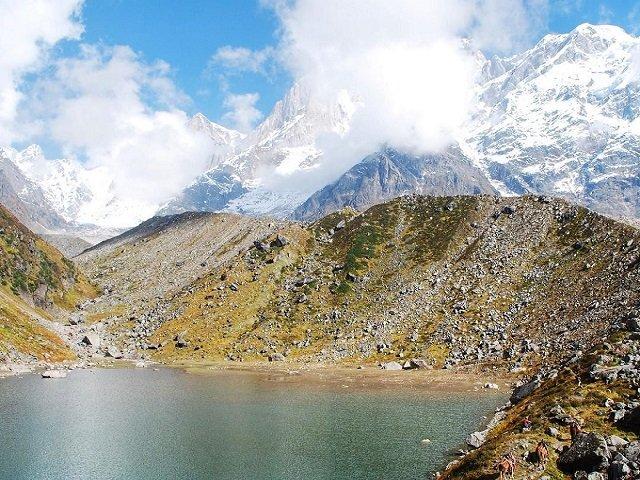 Chorabari Lake- Places to Visit in Kedarnath, Uttarakhand