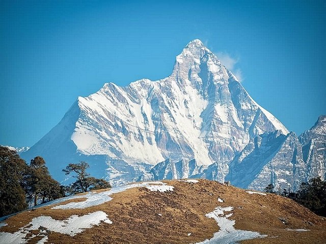 Kamet Peak- Best places in Badrinath, Uttarakhand