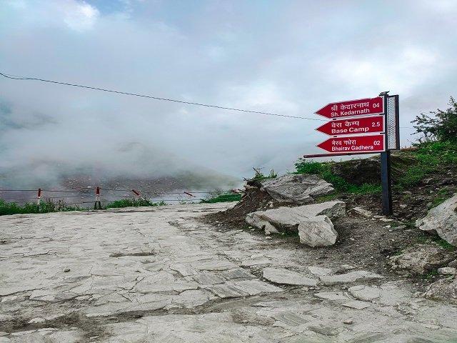 Route to Kedarnath, Uttarakhand